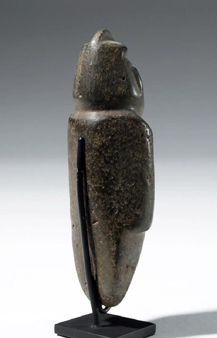 Large Guerrero Chontal Standing Stone Figure - 3