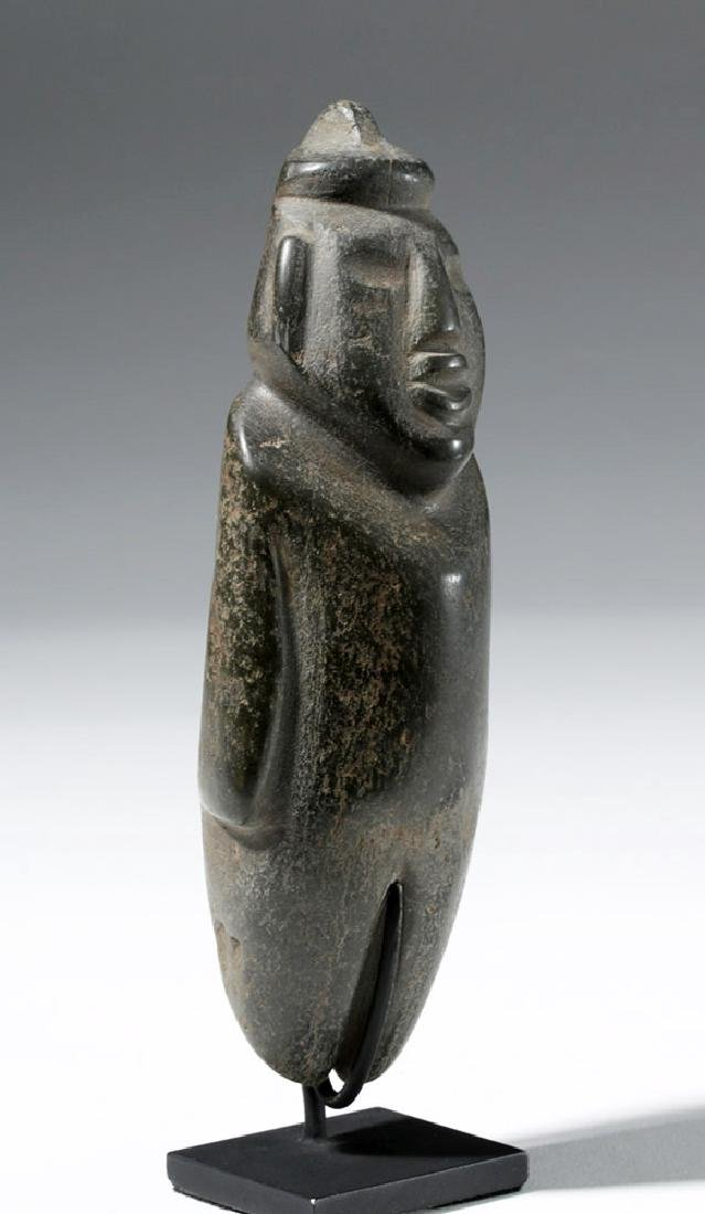 Large Guerrero Chontal Standing Stone Figure - 4