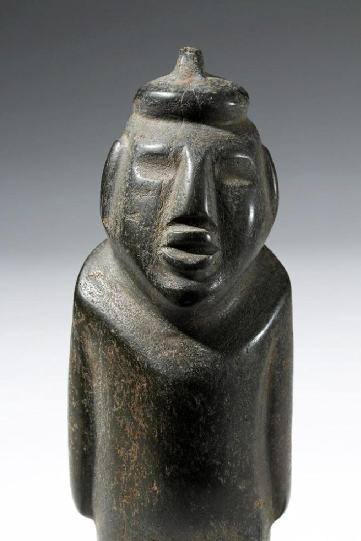 Large Guerrero Chontal Standing Stone Figure - 5