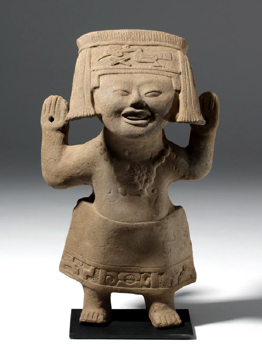 Fine / Large Veracruz Pottery Sonriente - Laughing Boy