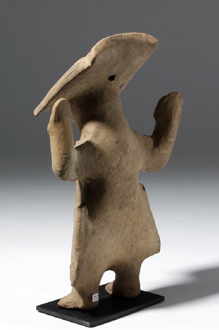 Fine / Large Veracruz Pottery Sonriente - Laughing Boy - 2