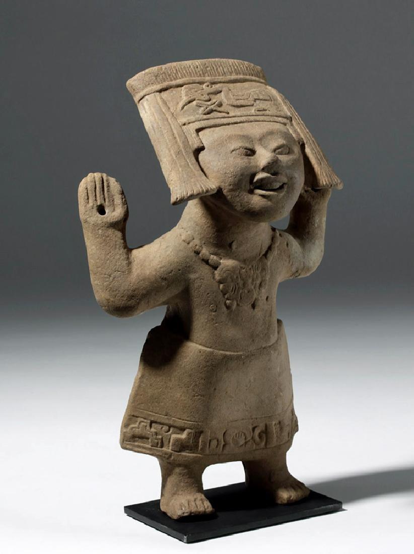 Fine / Large Veracruz Pottery Sonriente - Laughing Boy - 4