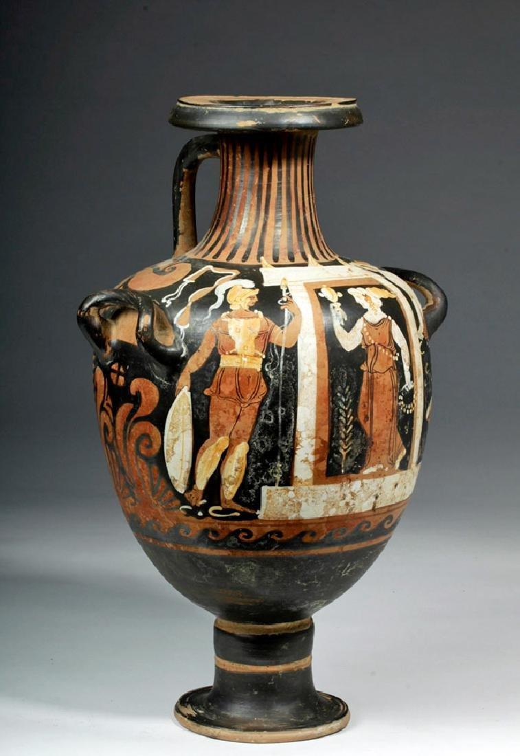 Greek Campanian Pottery Hydria, ex-Christies