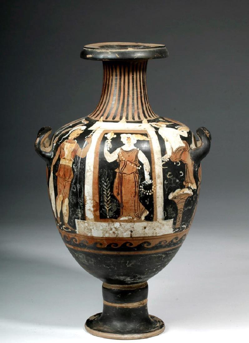 Greek Campanian Pottery Hydria, ex-Christies - 2