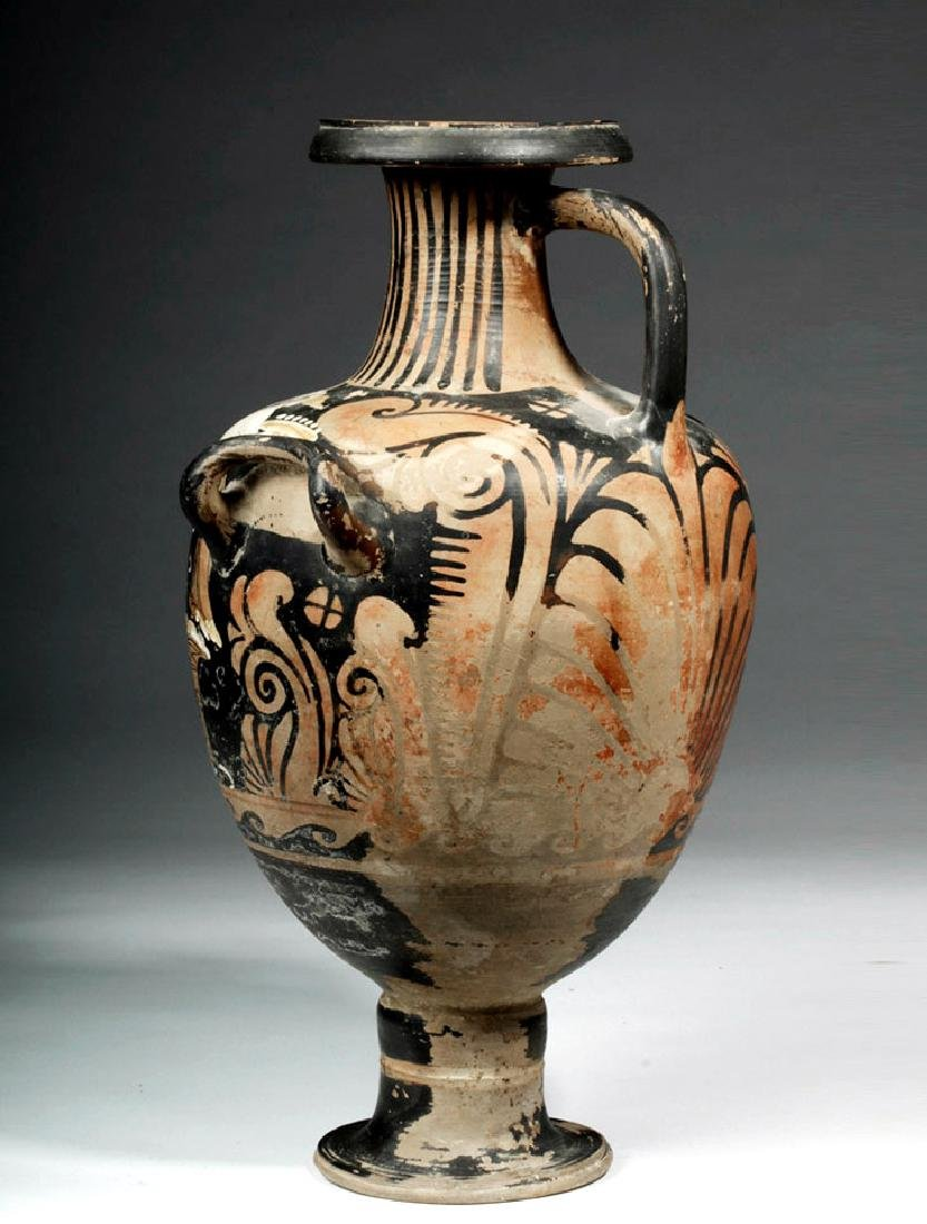 Greek Campanian Pottery Hydria, ex-Christies - 4