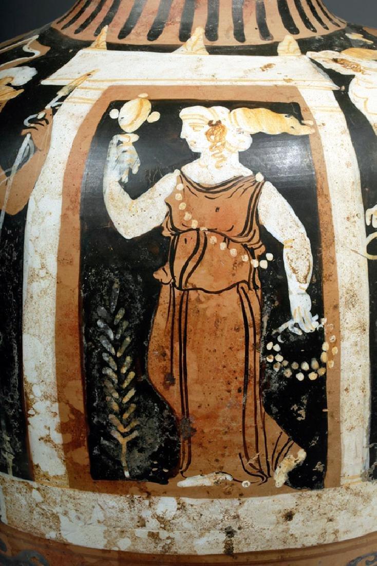 Greek Campanian Pottery Hydria, ex-Christies - 7