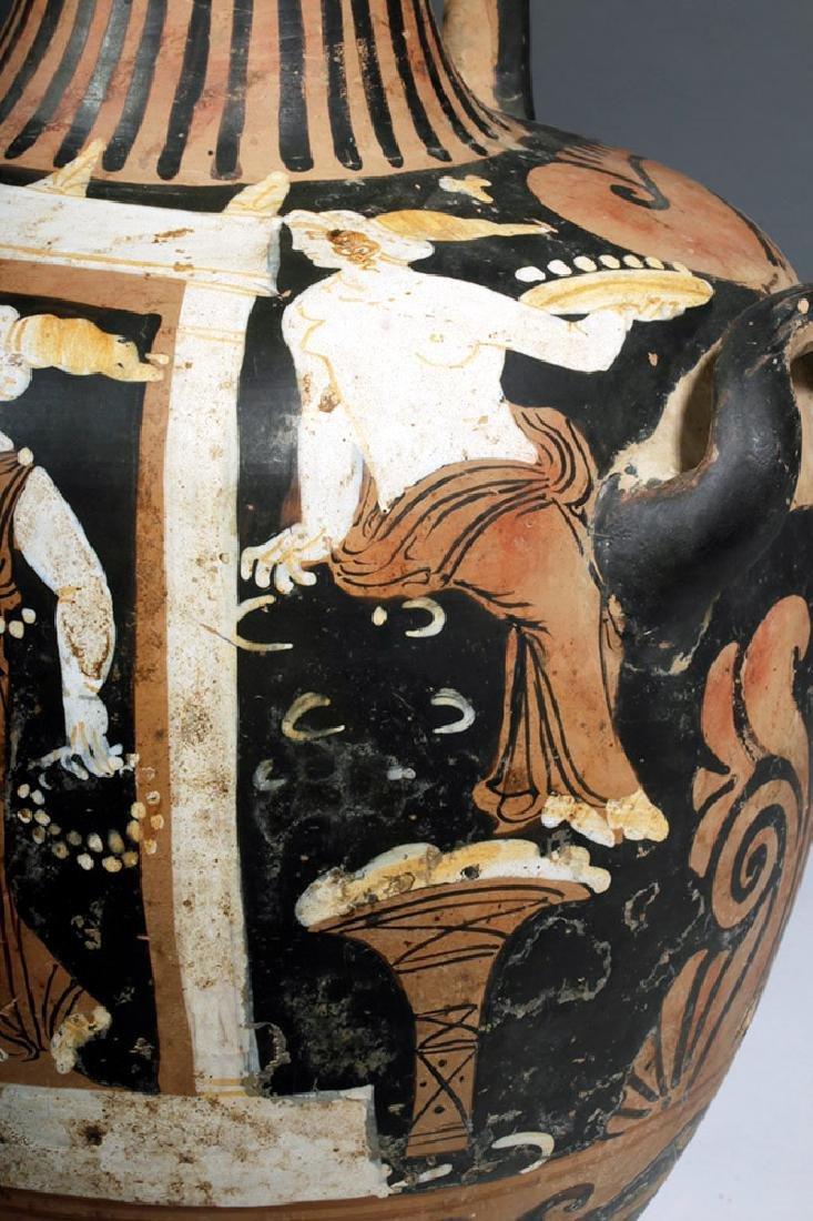 Greek Campanian Pottery Hydria, ex-Christies - 8