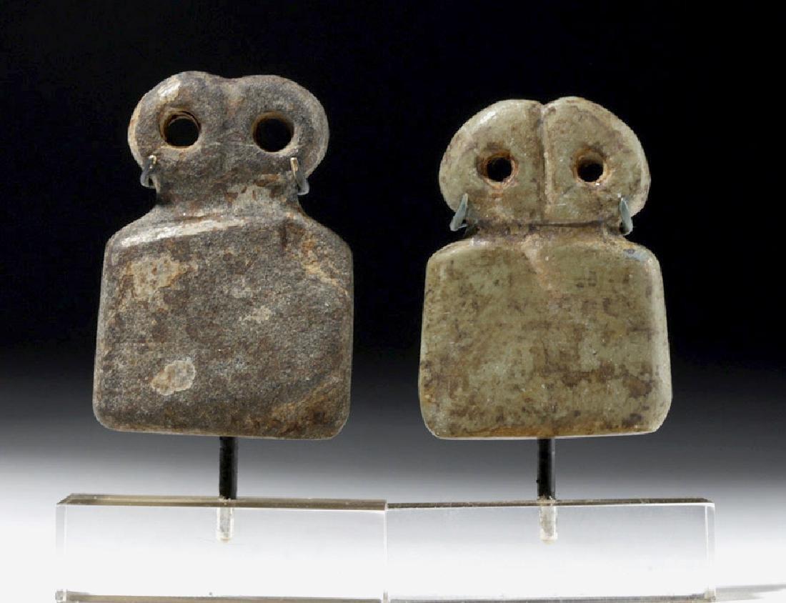 Two Tell Brak Stone Eye Idols - Rare Size