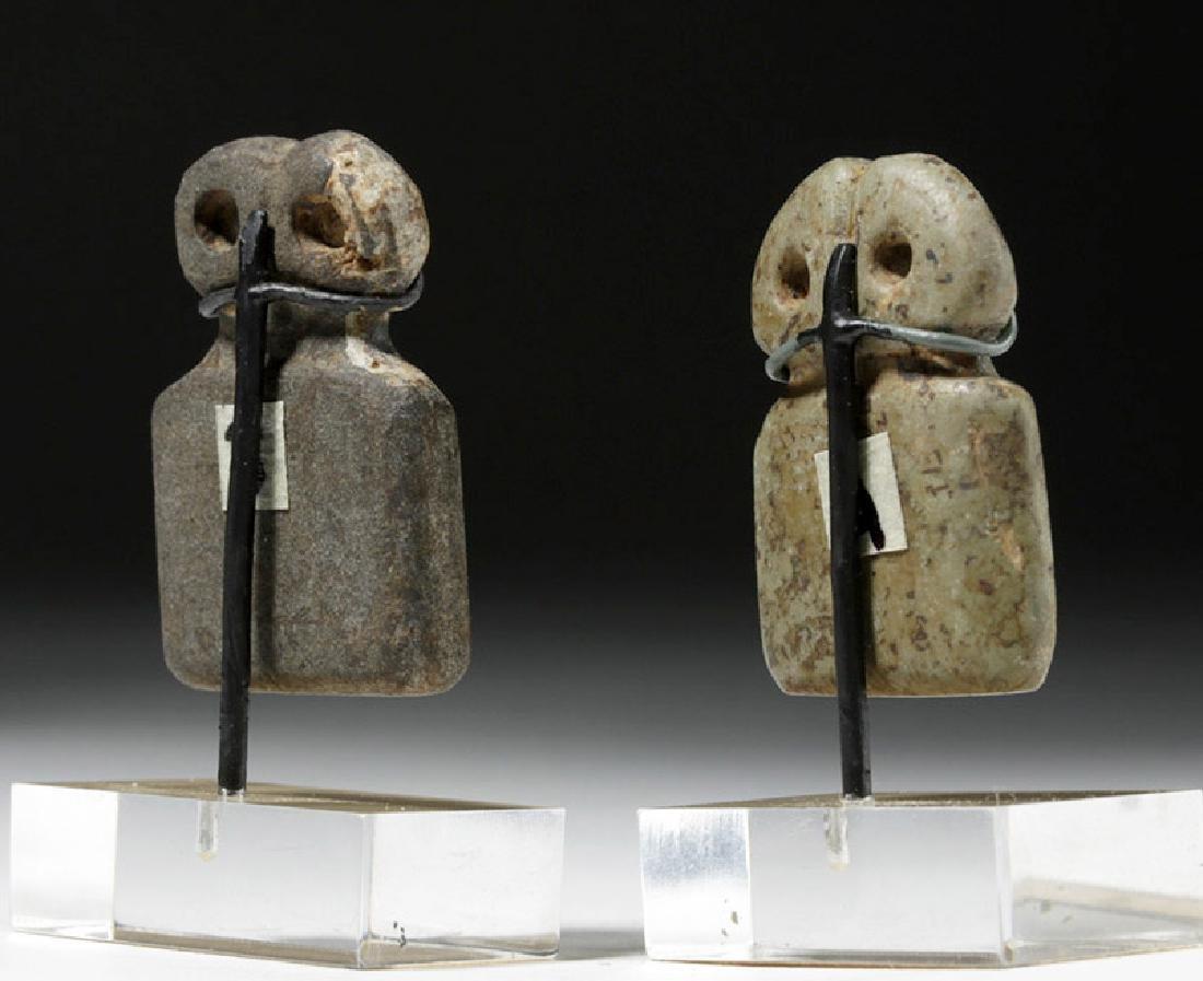 Two Tell Brak Stone Eye Idols - Rare Size - 3
