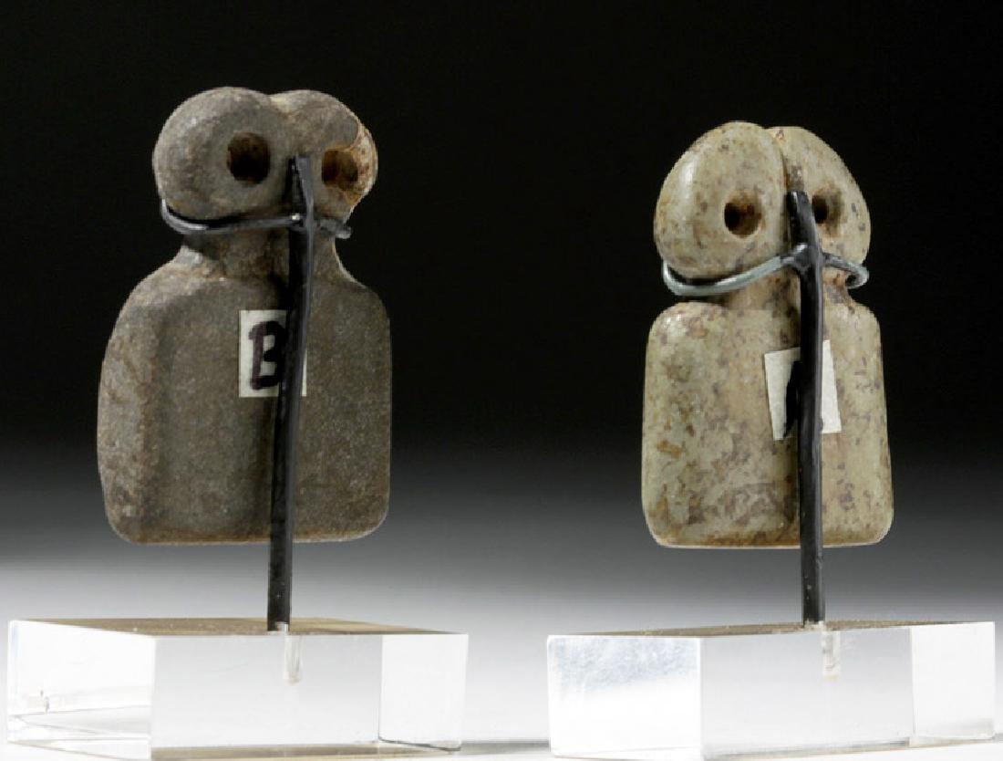 Two Tell Brak Stone Eye Idols - Rare Size - 4