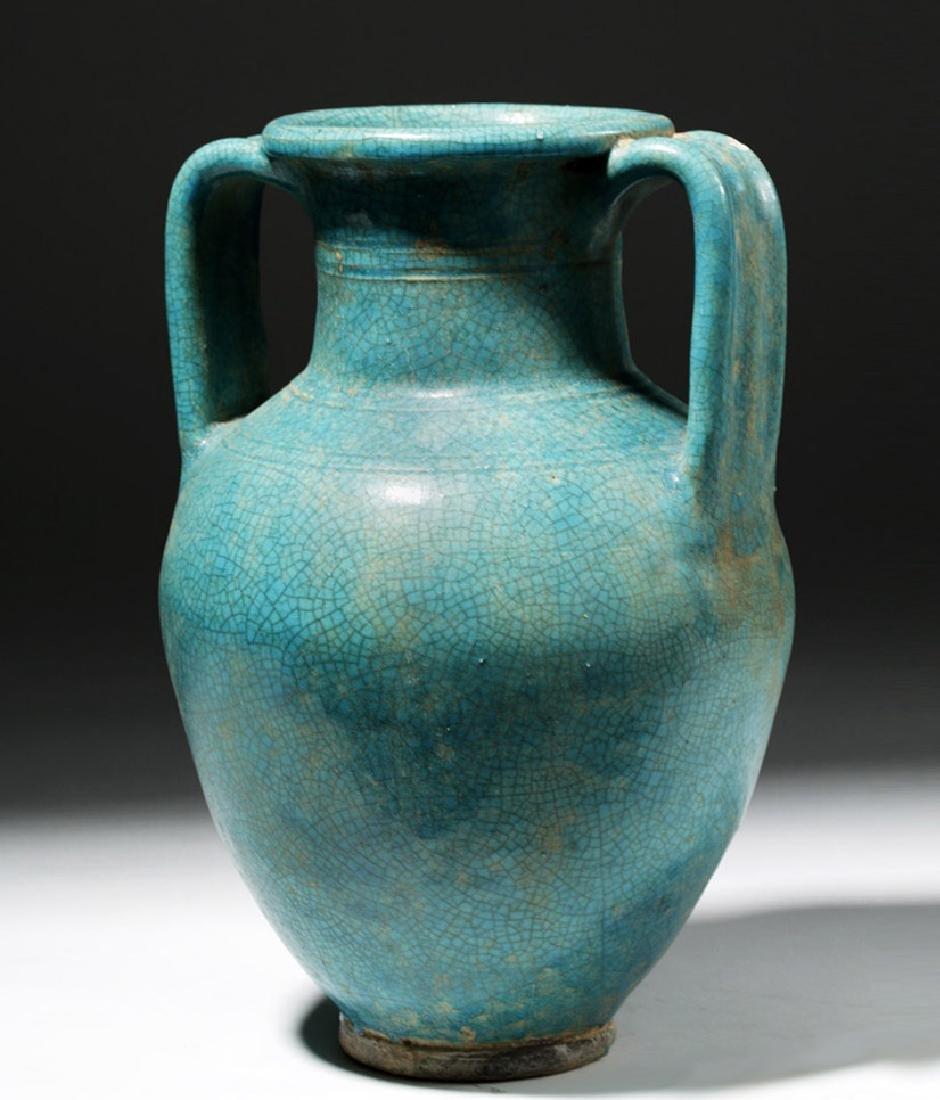 1st C. Parthian Glazed Pottery Amphora, Ex-Christie's