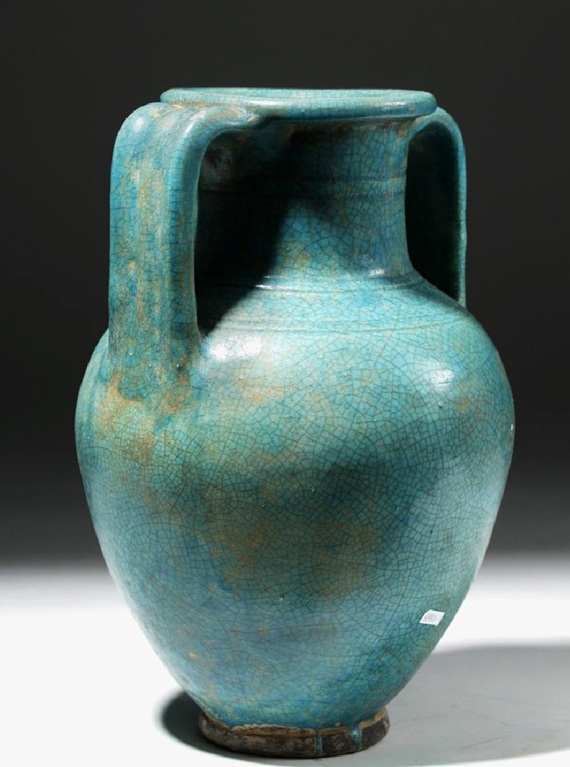 1st C. Parthian Glazed Pottery Amphora, Ex-Christie's - 2