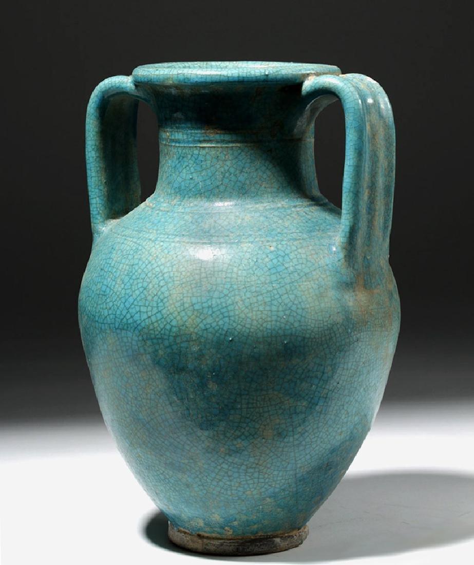 1st C. Parthian Glazed Pottery Amphora, Ex-Christie's - 3