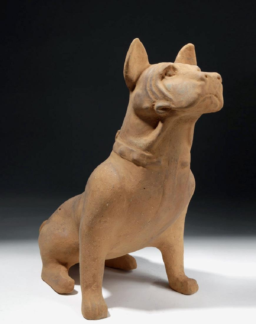 Large Chinese Han Dynasty Pottery Dog - 4