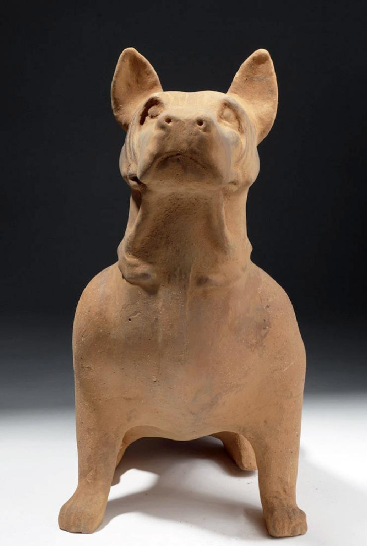Large Chinese Han Dynasty Pottery Dog - 6
