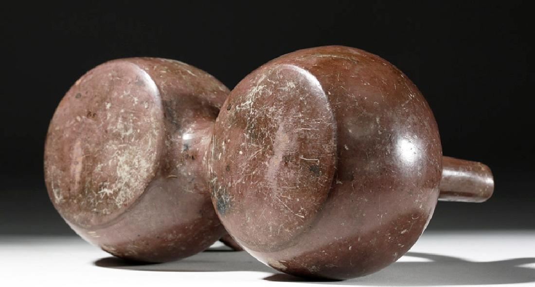 Fine Viru Whistling Pottery Stirrup Jar, Dwarf / Monkey - 7