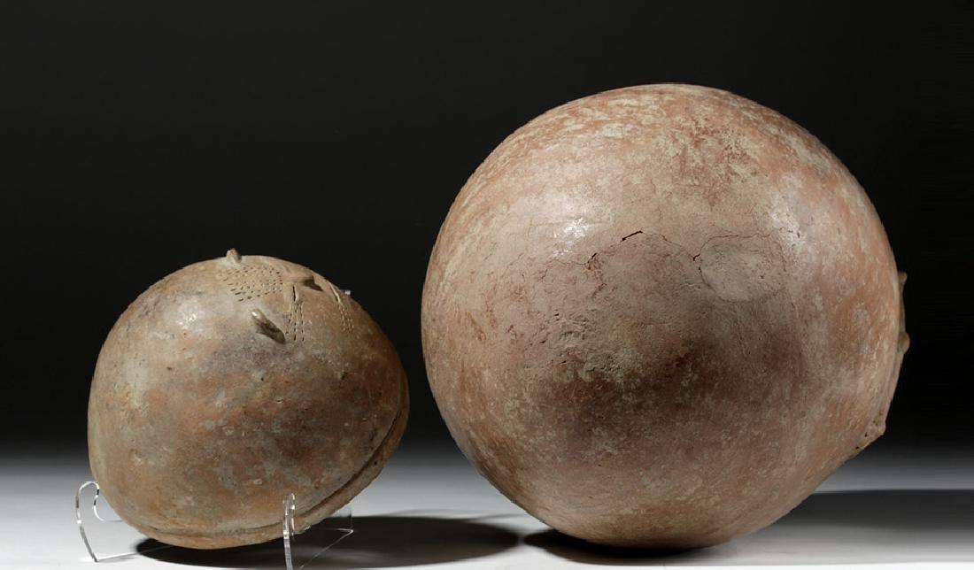 Chimila Pottery Anthropomorphic Burial Urn Egg-Shaped - 9