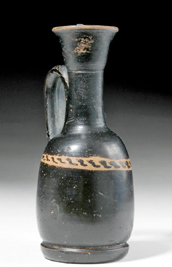 Greek Attic Black Figure Squat Lekythos - 4