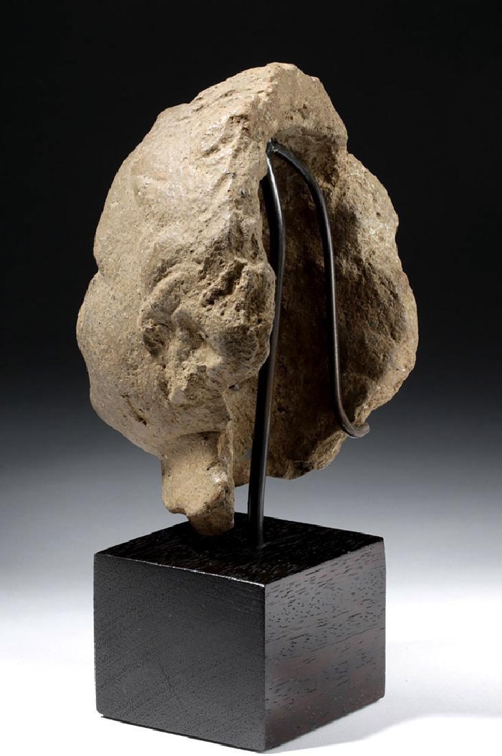 Roman Terracotta Head of a Young Boy - 2