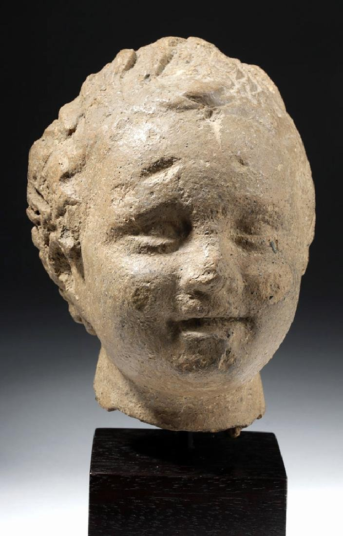 Roman Terracotta Head of a Young Boy - 5