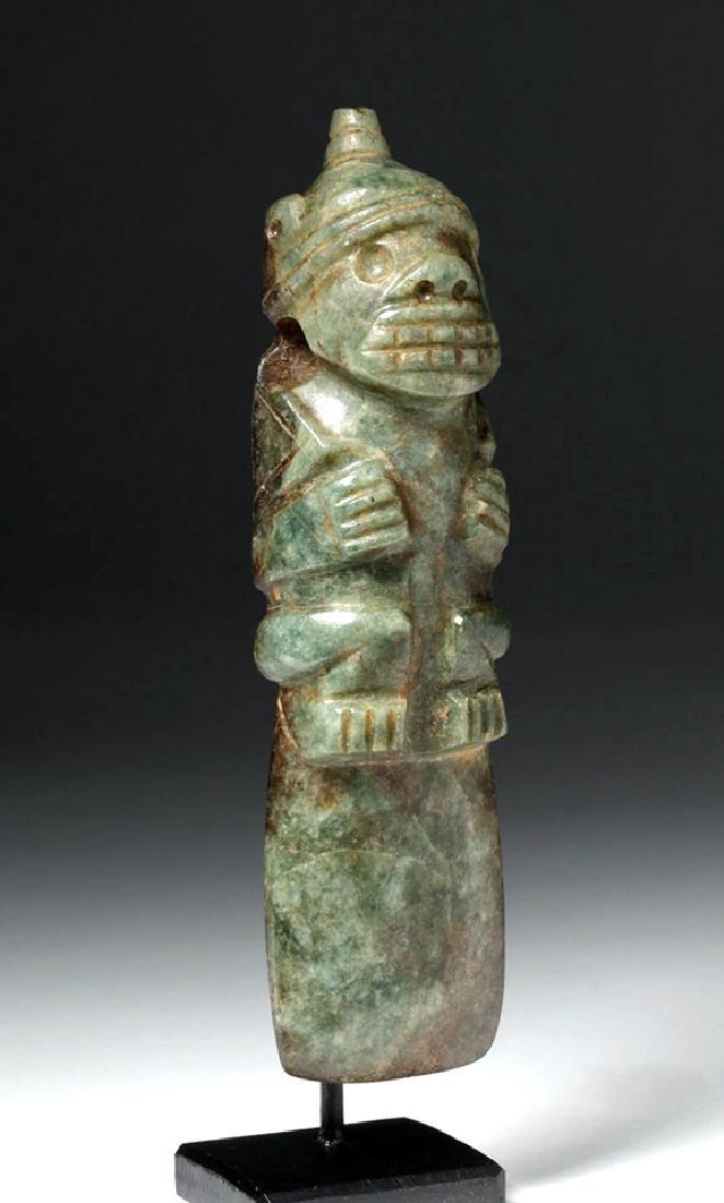 Costa Rican Jade Axe God - Shaman / Jaguar - 4