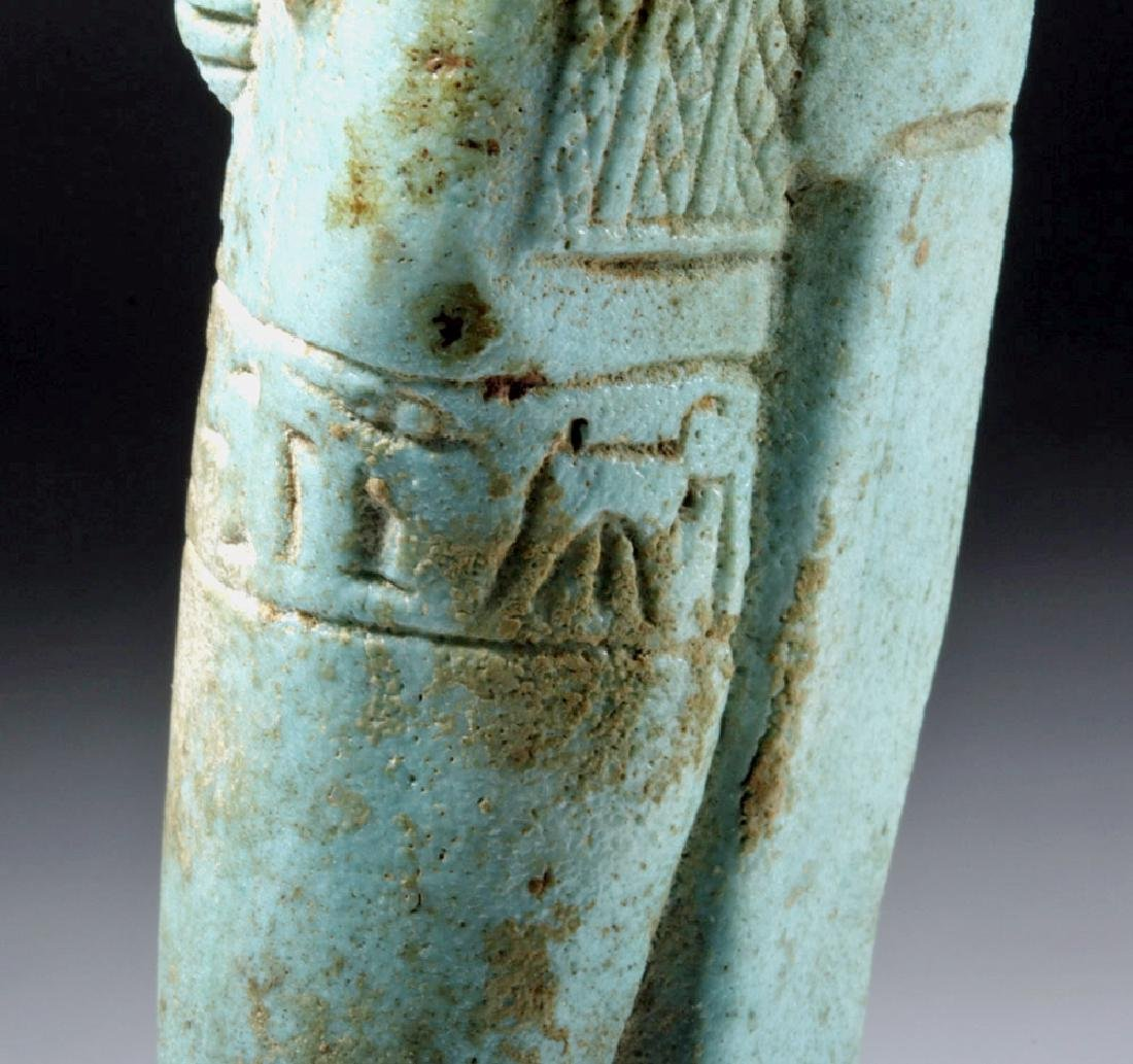30th Dynasty Ushabti for Nesbanebdjedet - 10