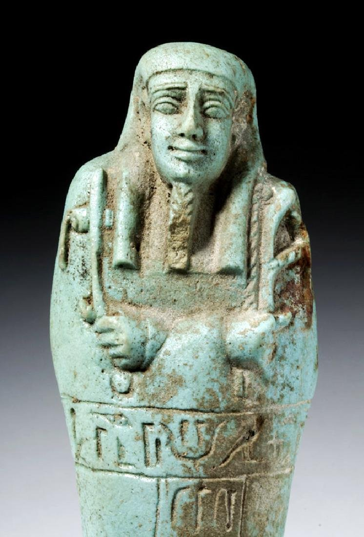 30th Dynasty Ushabti for Nesbanebdjedet - 2