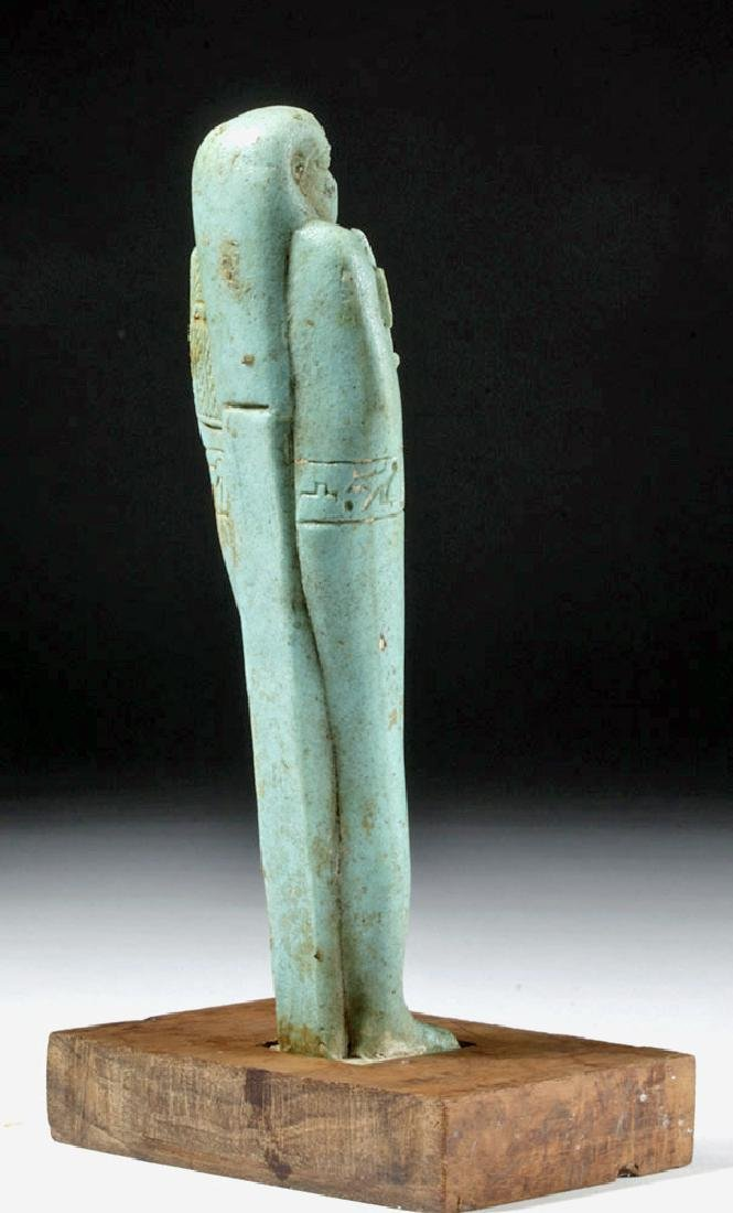 30th Dynasty Ushabti for Nesbanebdjedet - 3