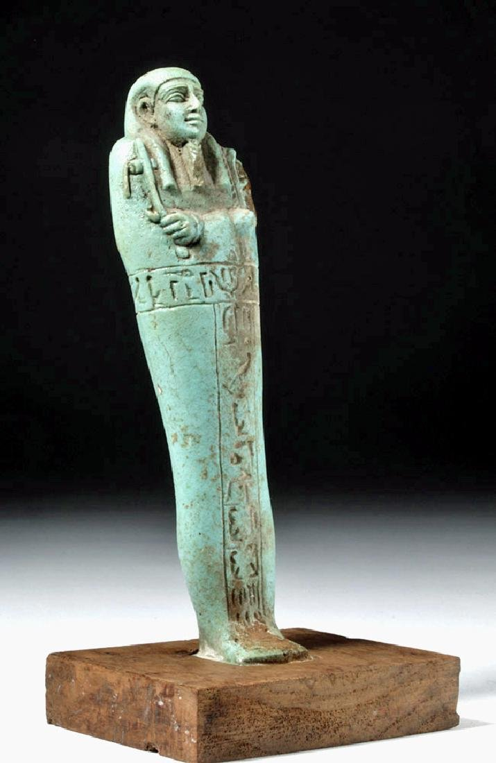 30th Dynasty Ushabti for Nesbanebdjedet - 4