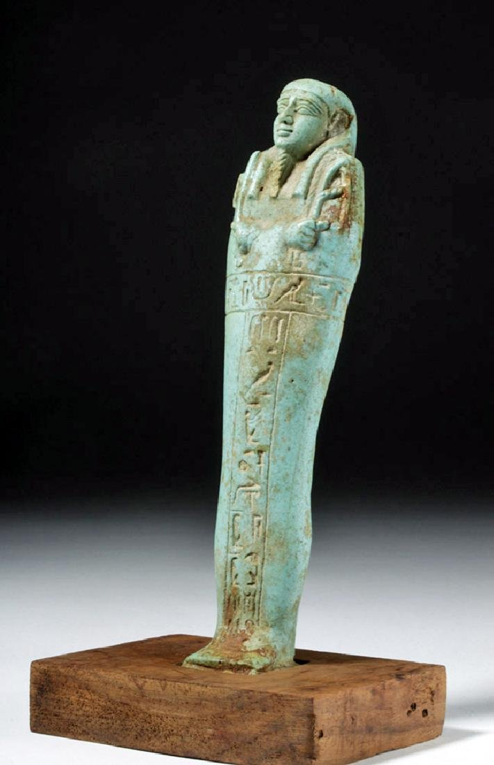 30th Dynasty Ushabti for Nesbanebdjedet - 5