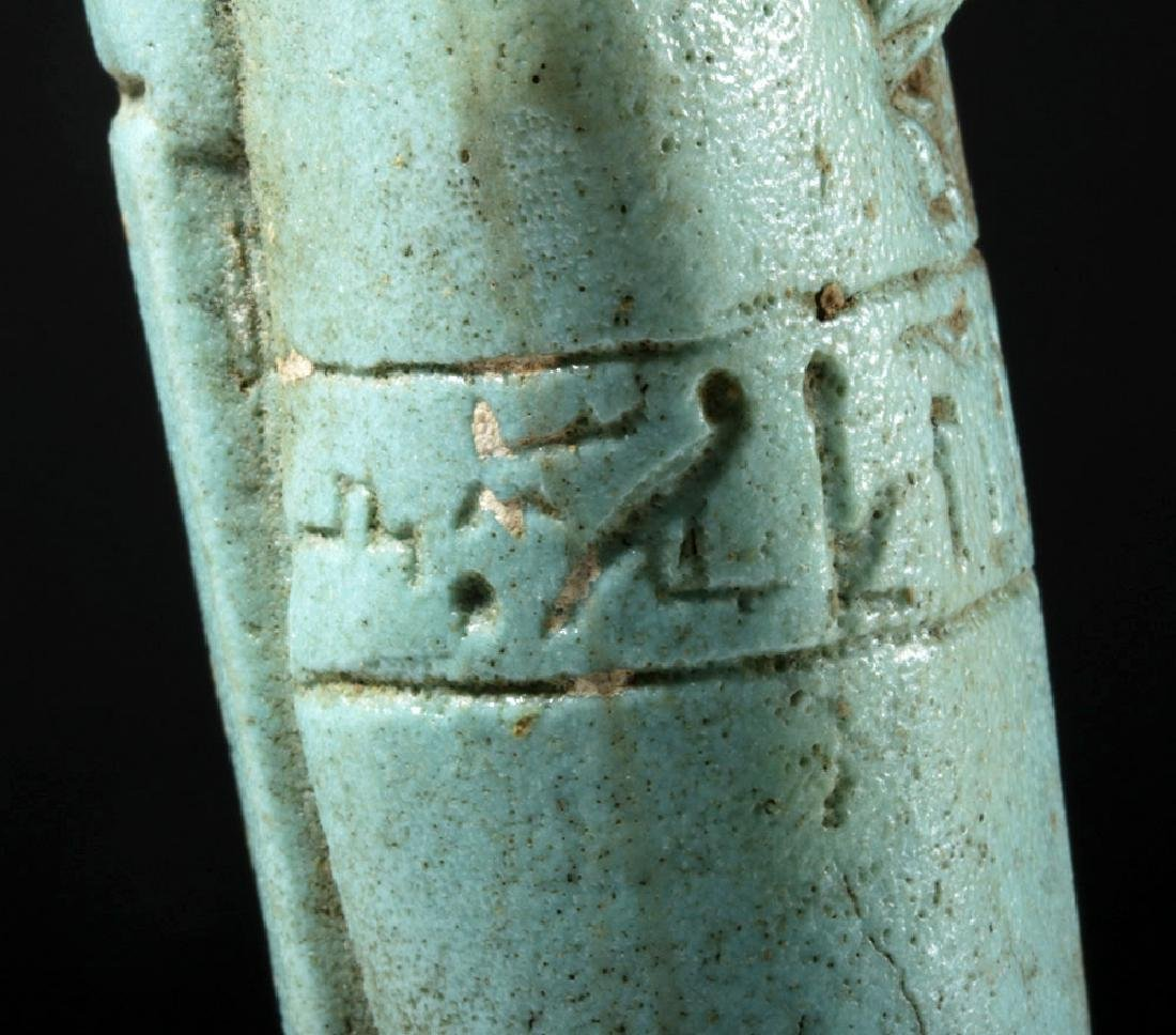 30th Dynasty Ushabti for Nesbanebdjedet - 7