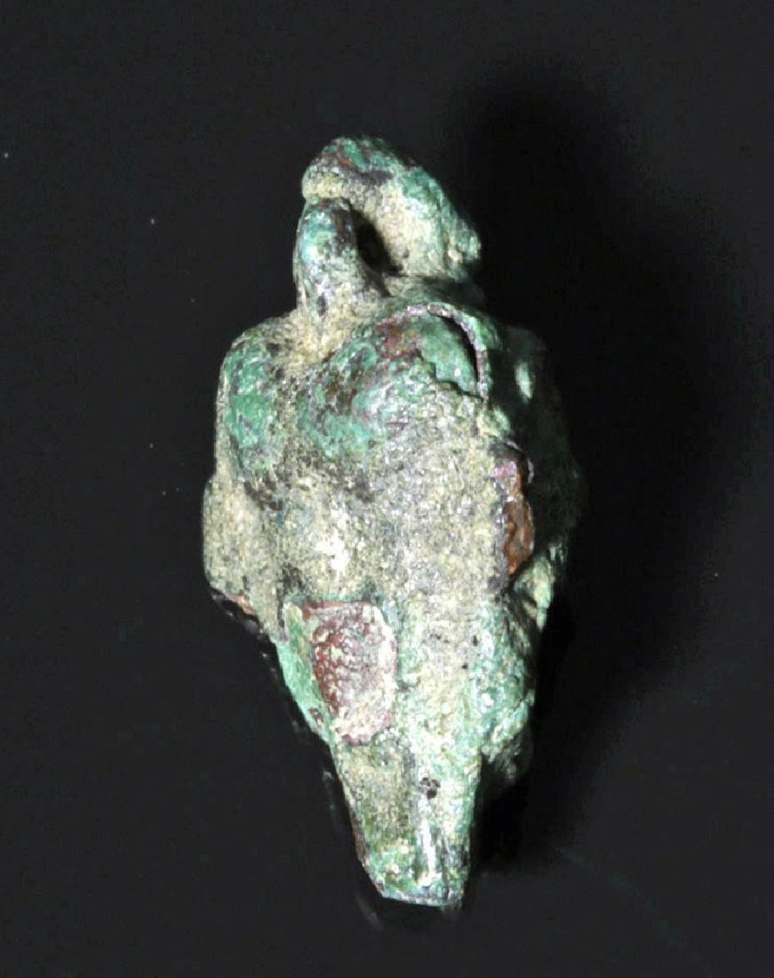 Neo Assyrian Bronze Pazuzu Amulet - 2