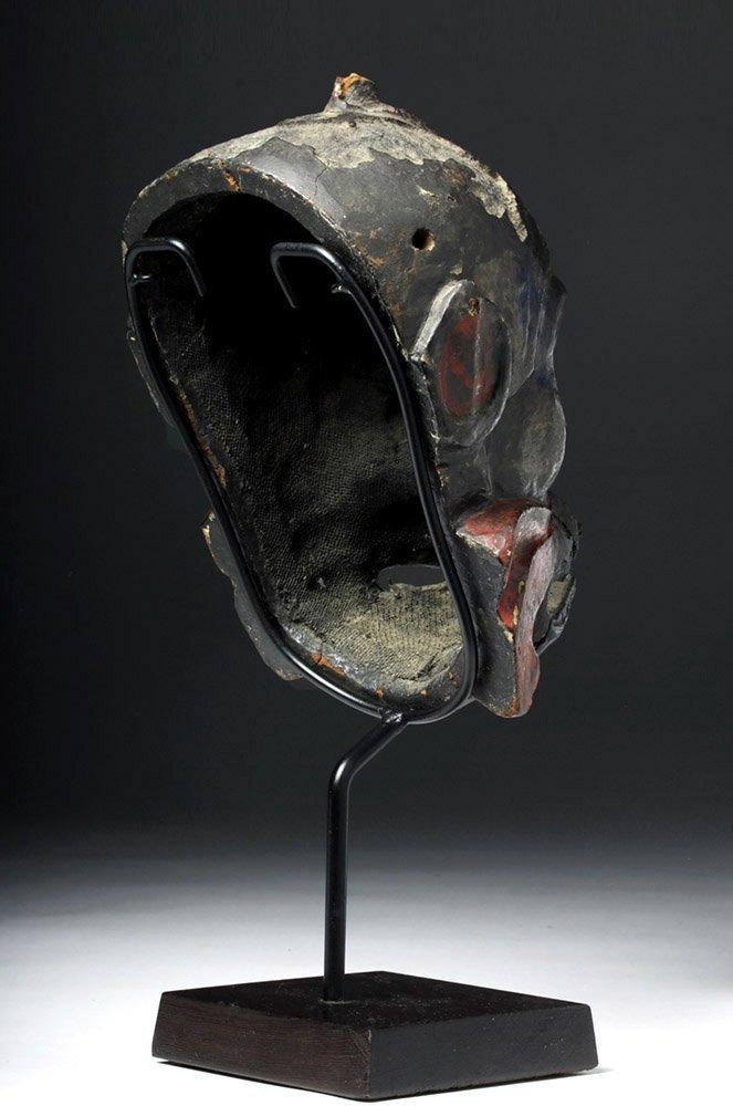 Japanese Edo Period Kanshitsu Gigaku Mask, Karura Type - 5