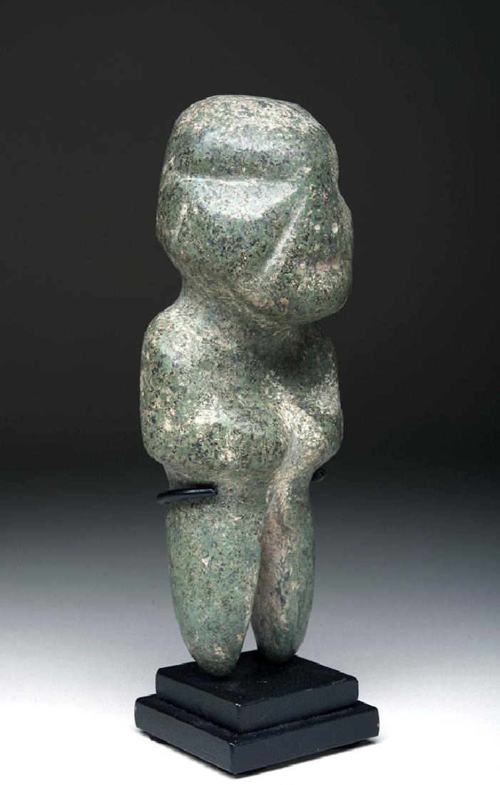 Mezcala Greenstone Figure, ex-Arnovick - 2