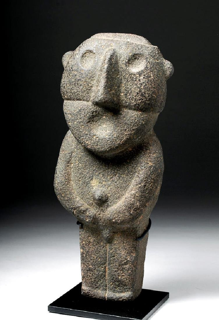 Pre-Columbian Mexico Tarascan Stone Male Figure