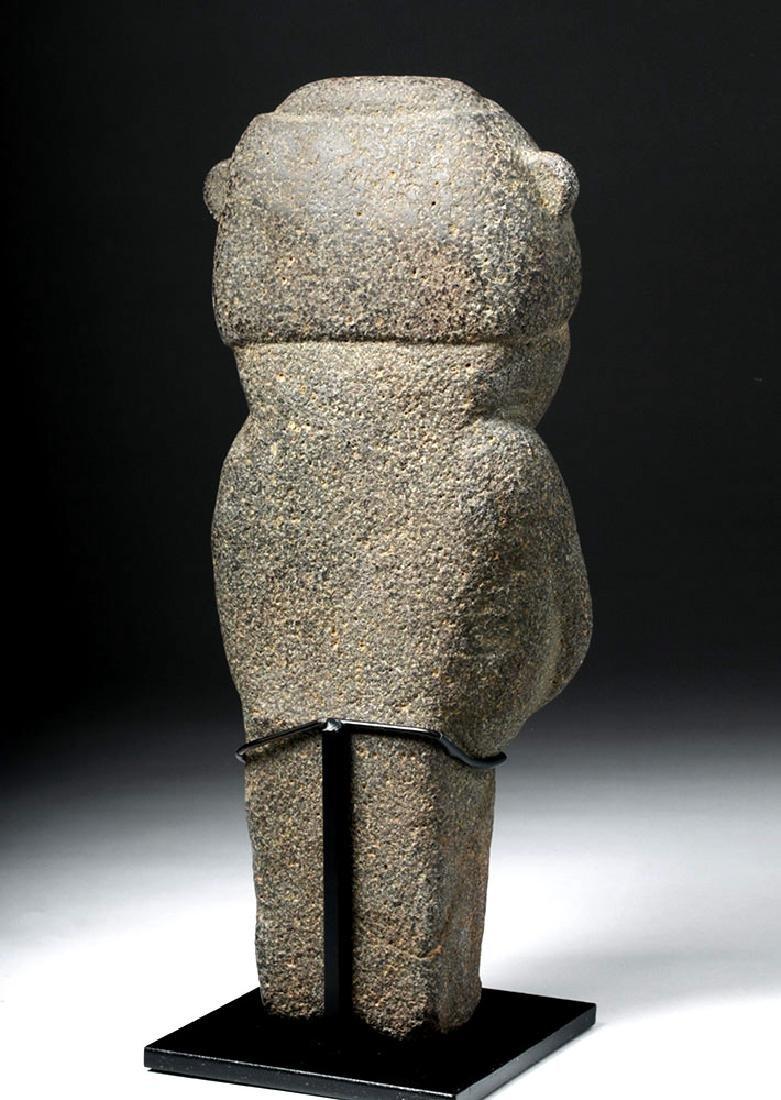 Pre-Columbian Mexico Tarascan Stone Male Figure - 3