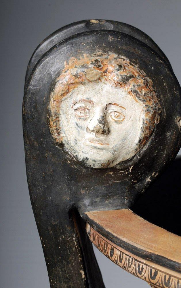 Huge Greek Apulian Volute Krater Ex-Christie's - 6