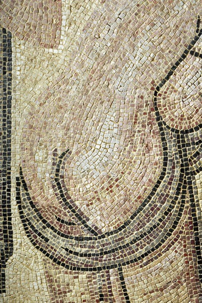 Roman Polychrome Mosaic - Bathhouse Scene - 4