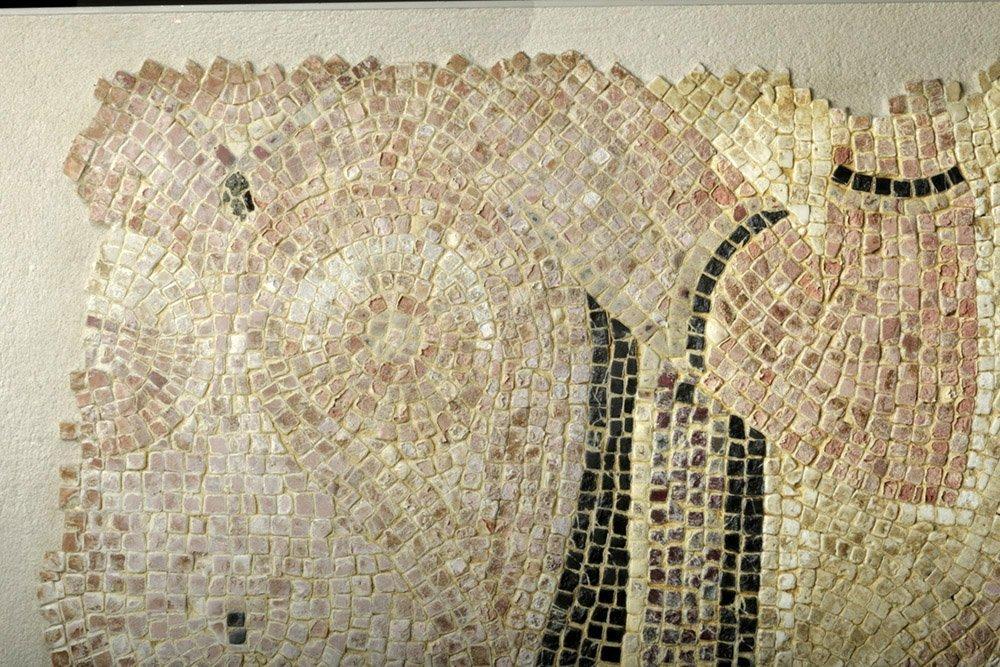 Roman Polychrome Mosaic - Bathhouse Scene - 6