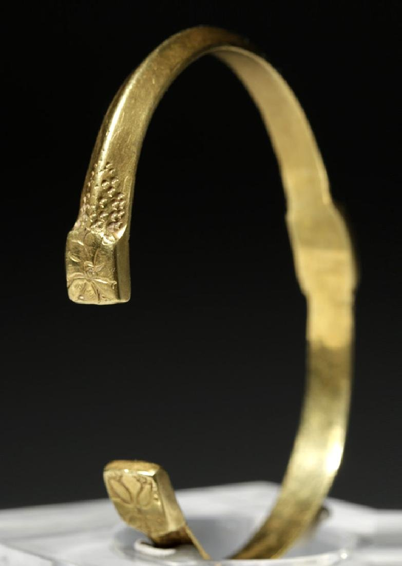 Ancient Byzantine 22K Gold Bracelet - Gorgeous! - 3