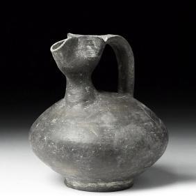 Eastern Greek Greyware Pottery Pouring Vessel