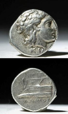 Bithynia Kios Silver Hemistater Coin - 325 BCE