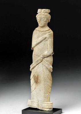Roman Bone Figural Doll or Votive