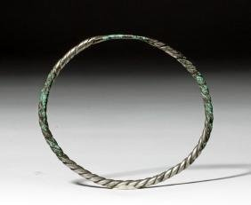 Ancient / Authentic Viking Twisted Silver Torc