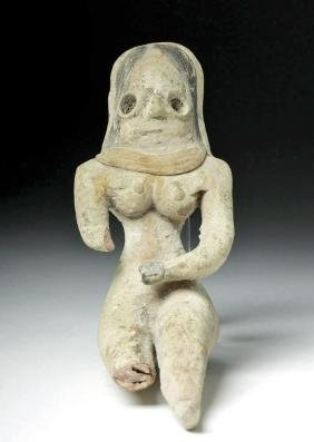 Indus Valley Painted Pottery Fertility Goddess