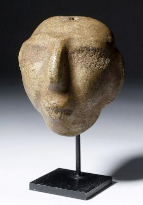 Rare Chontal Guerrero Stone Mask