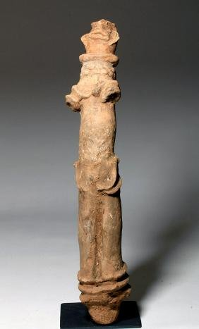 Ancient African Bura Asinda-Sikka Figure, ex-Arnovick