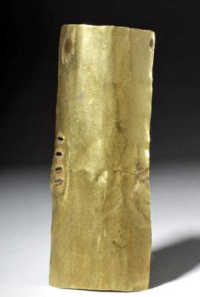 Pre-Columbian 14K+ Gold Arm Band / Pectoral