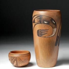20th C. Hopi Indian Ceramic Vases - Nampayo