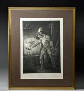 18th C. English Shakespearean Engraving - Boydell
